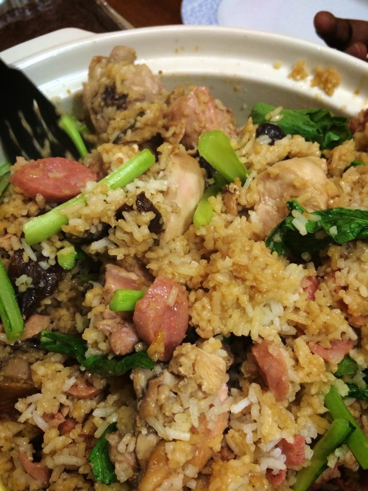 Claypot Chicken Rice, homemade, proud