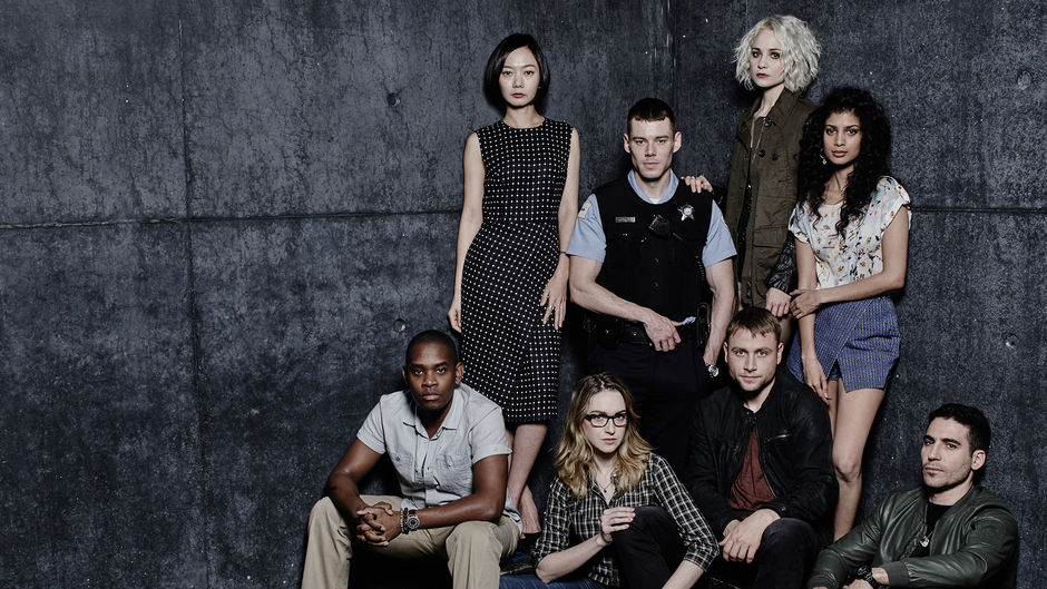 The main casts from Netflix Sense8