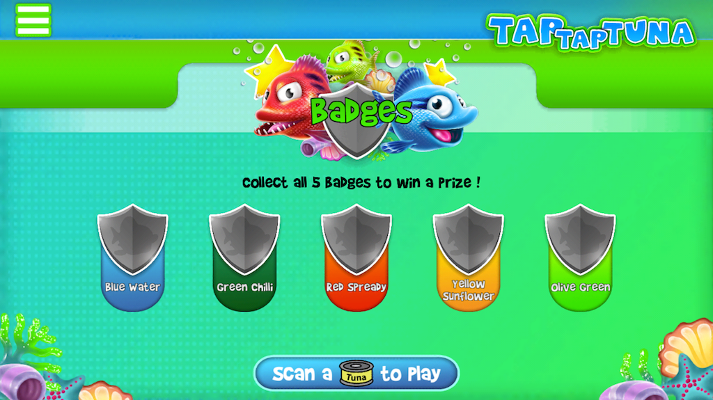 Players who have earned all five badges are eligible to win one can of Ayam Brand™ Tuna.