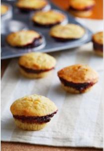 Mixed Berries Jam Muffins