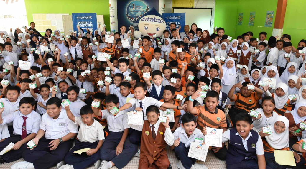 The launch of Antabax National Hygiene Campaign 2015 for Sarawak