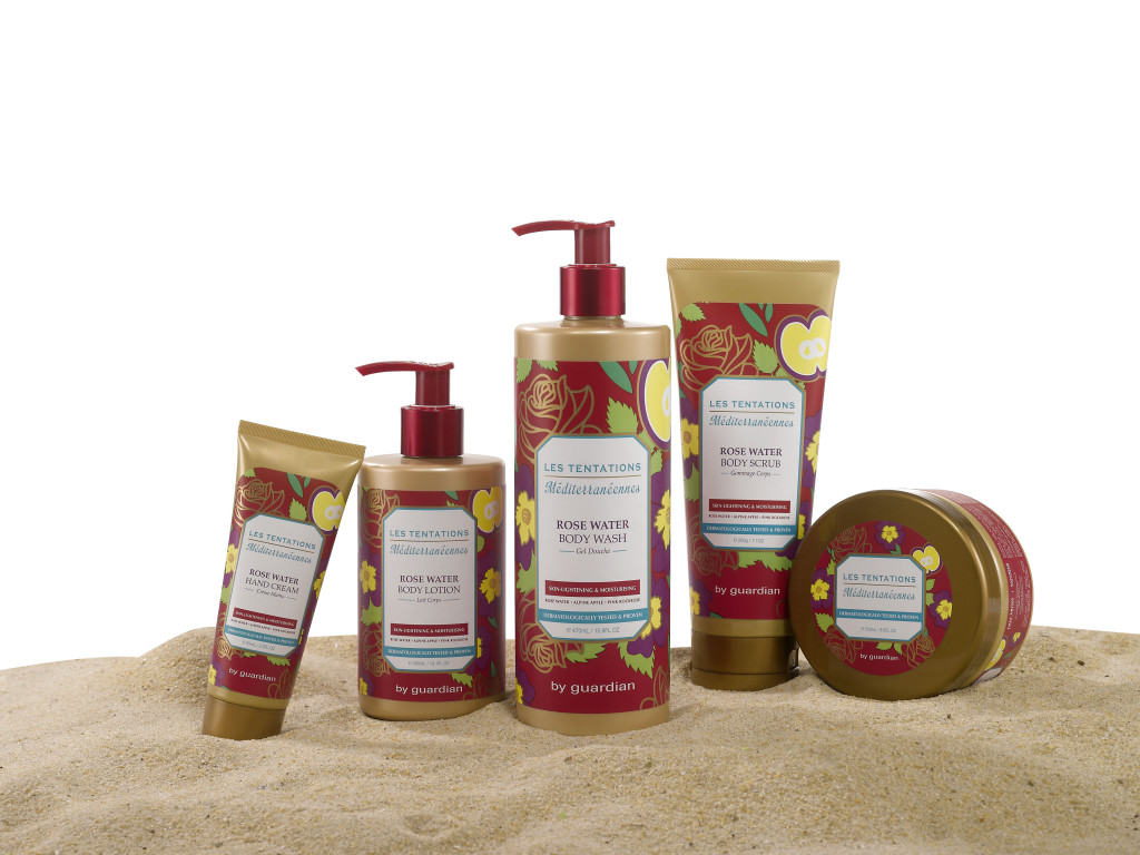 The Les Tentations Méditerranéennes Bath & Body Care Range  by Guardian