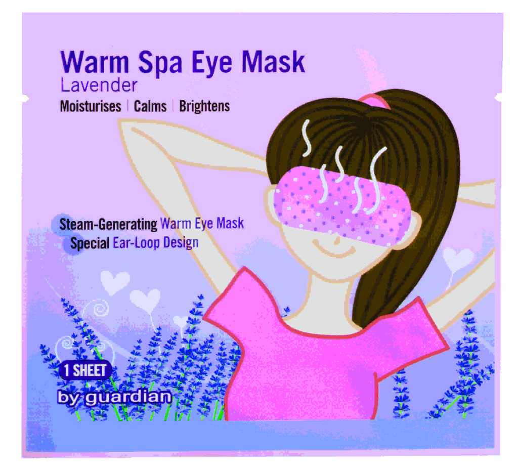 With Guardian Warm Spa Eye Mask, you no longer have to wait till you are at home to give your eyes some well-deserved pampering