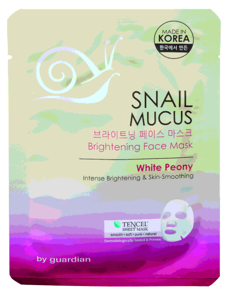 Aiding in skin rejuvenation, the Snail Mucus mask contains Snail Mucus extract that enhances skin elasticity and reduces the depth and appearance of wrinkles, improving skin smoothness.