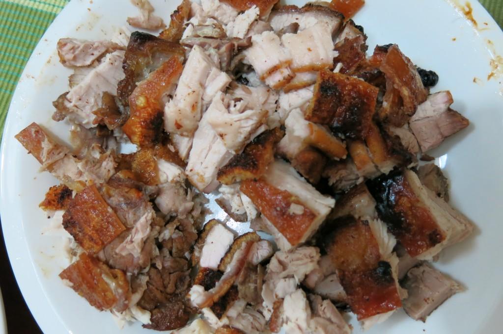 Roasted pork, I made it