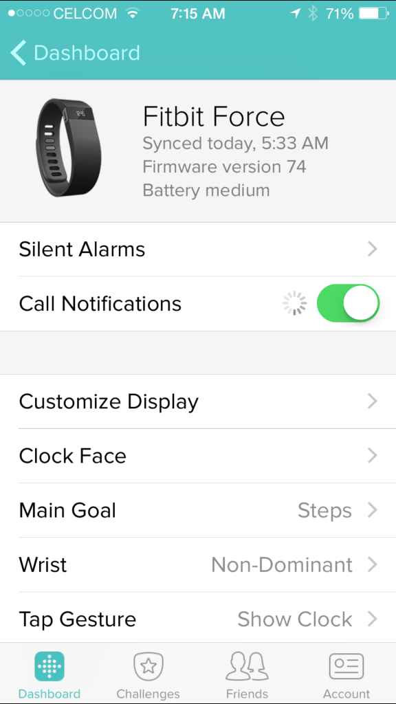FitBit added call notifications for long abandoned Force, which still many are using