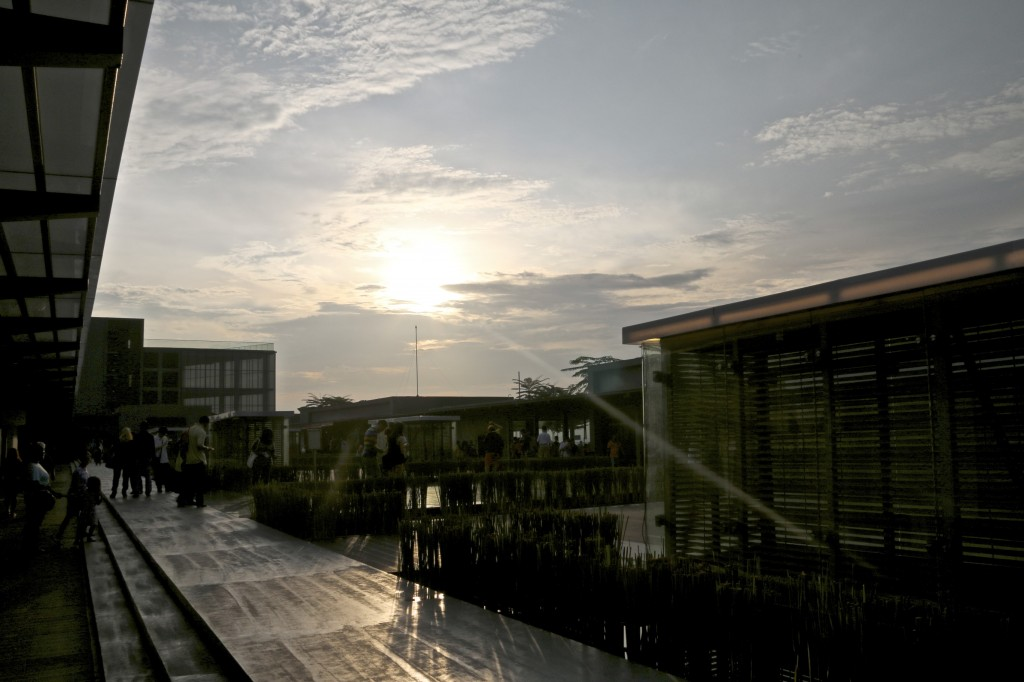 Sunset at Subang Jaya