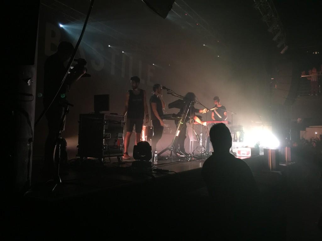 Bastille Live in KL, performing Oblivion
