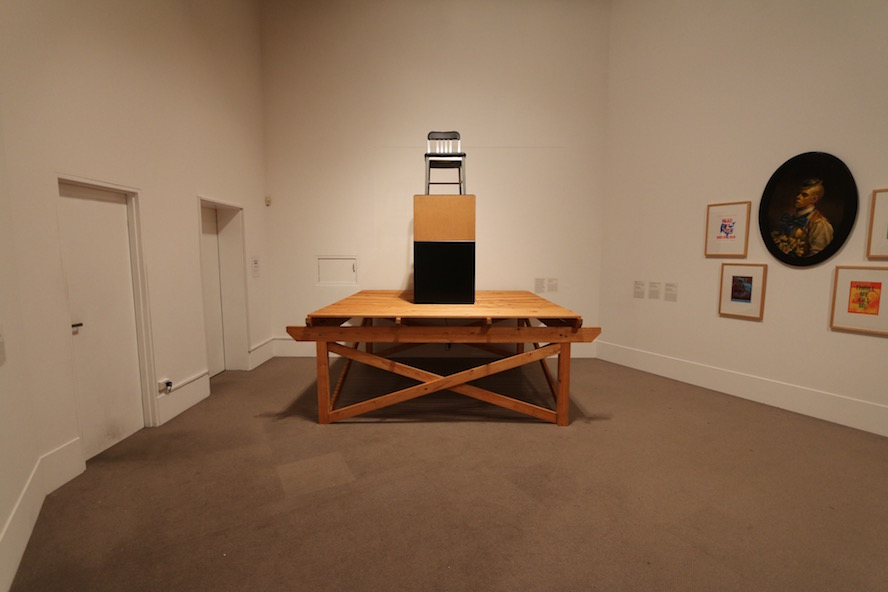 An exhibit of death sentence, a chair, by an American artist
