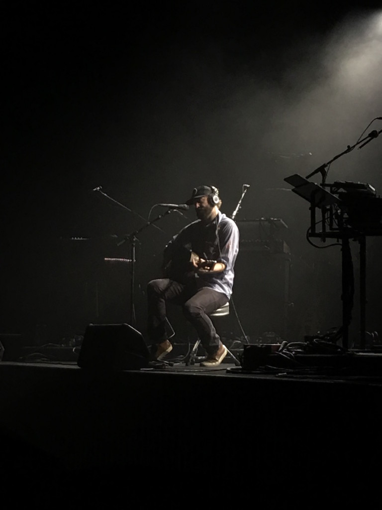 Justin Vernon, performing Skinny Love