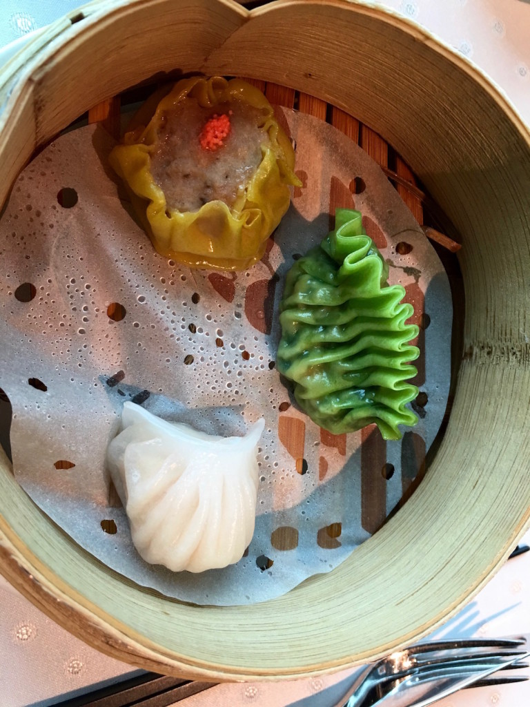 The Dim Sum dish that comes with the starter