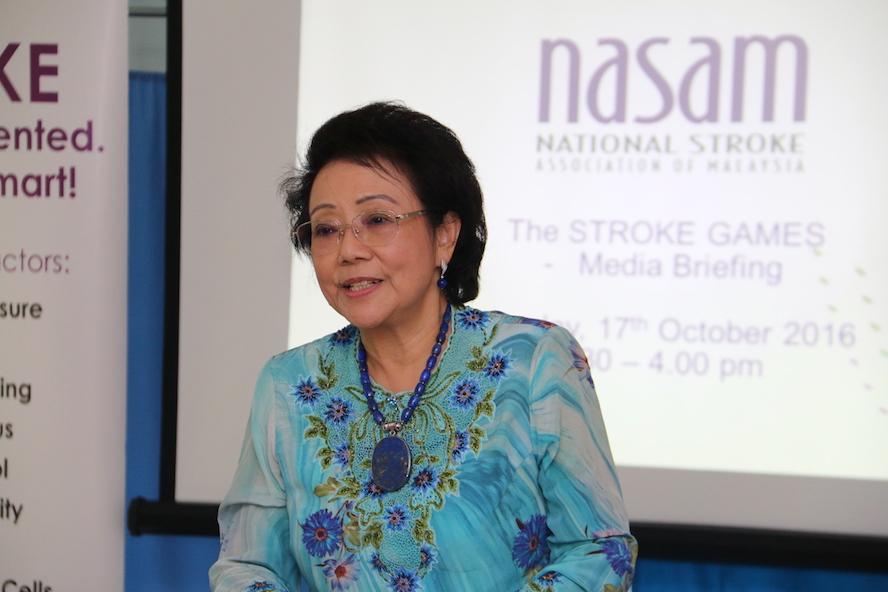 YABhg Toh Puan Dato' Seri Hajjah Dr Aishah Ong, Patron of NASAM