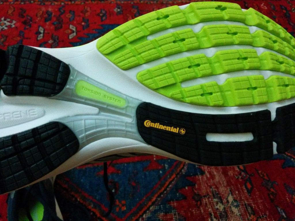 The rubber sole from Continental