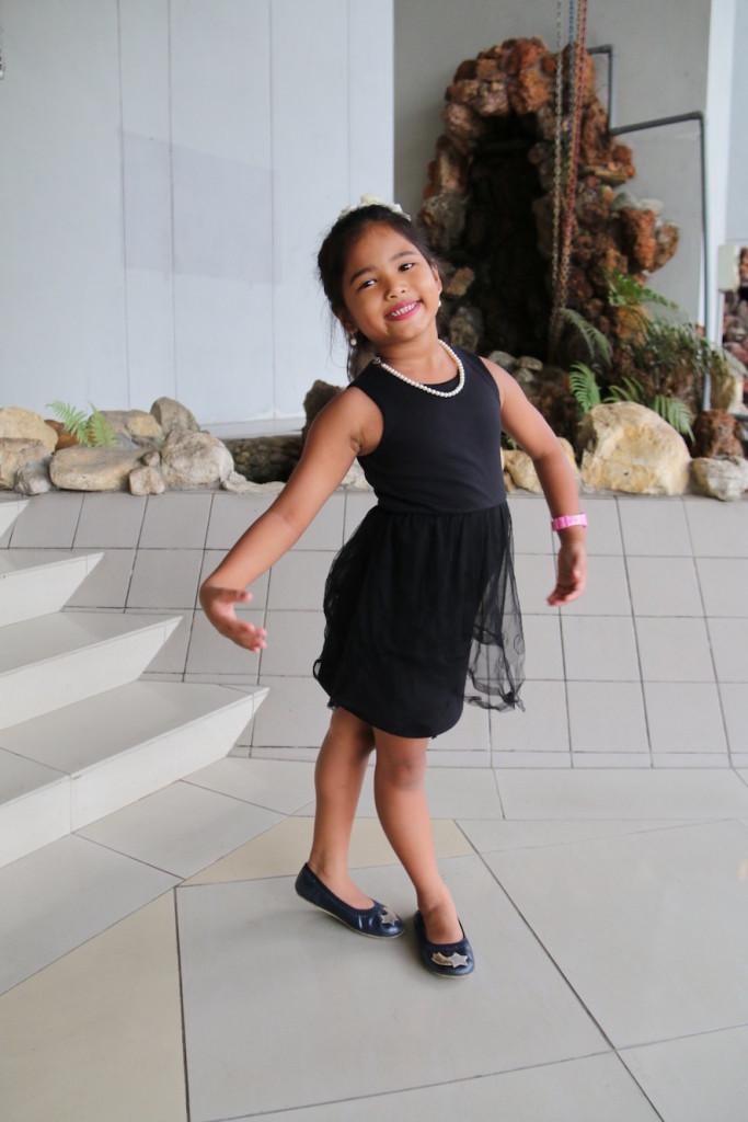 Ballet dancer, pose