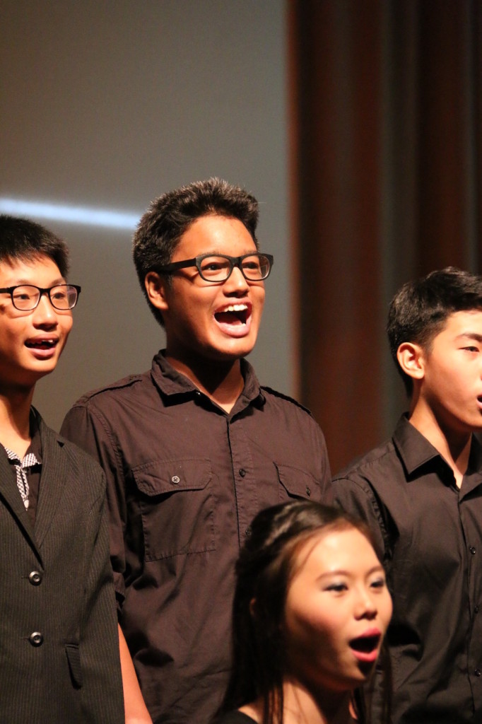 Ariel, performing The Sound of Music with his choir