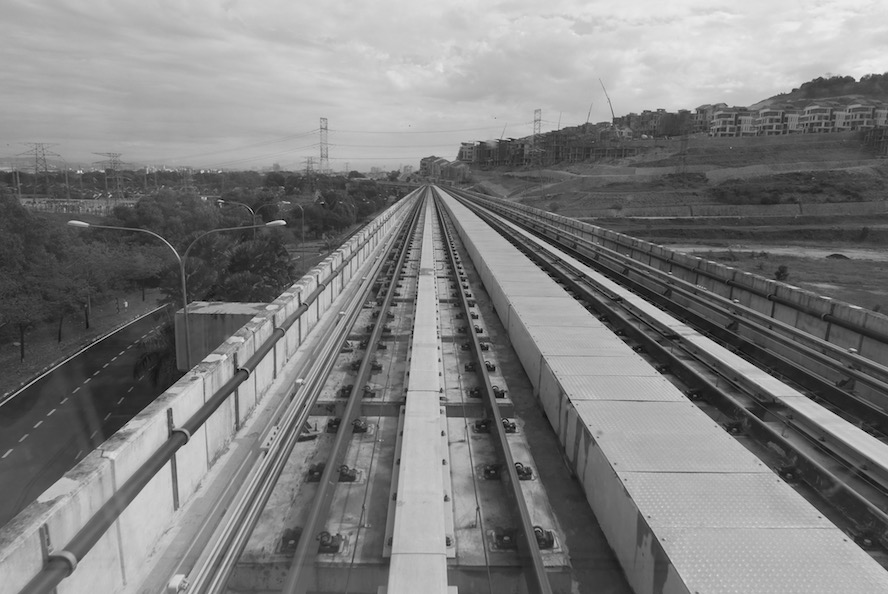 Driverless train, on Gombak Line