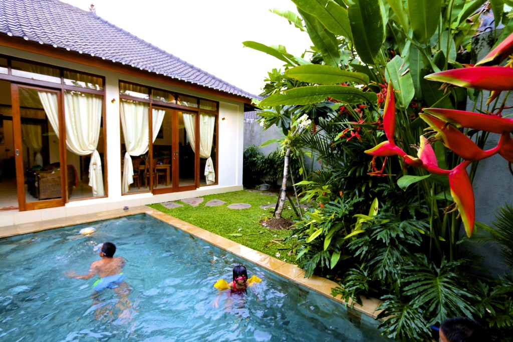 Inside of Villa Jepun, owned by Private Villas Ubud Group