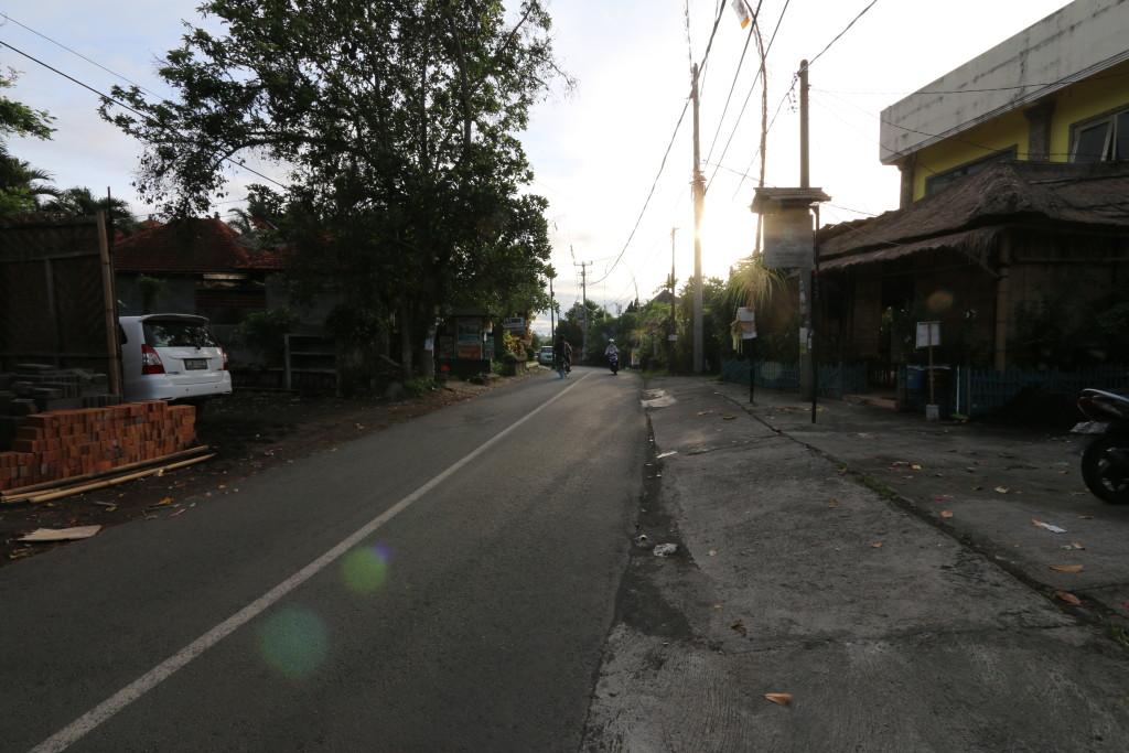 Sunrise at Ubud, Bali
