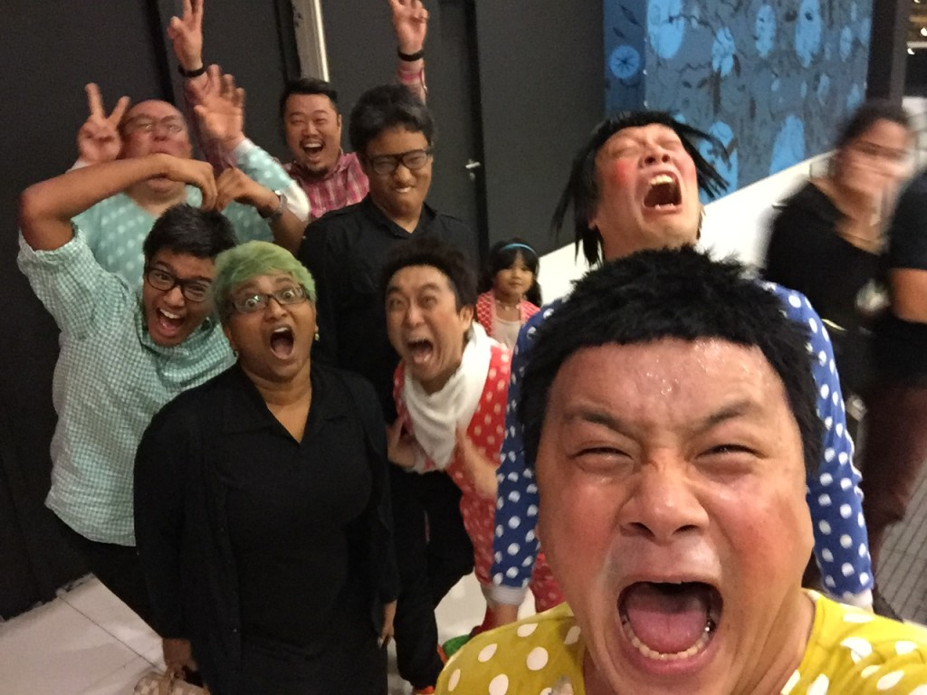 We were directed in this wefie, lots of fun.