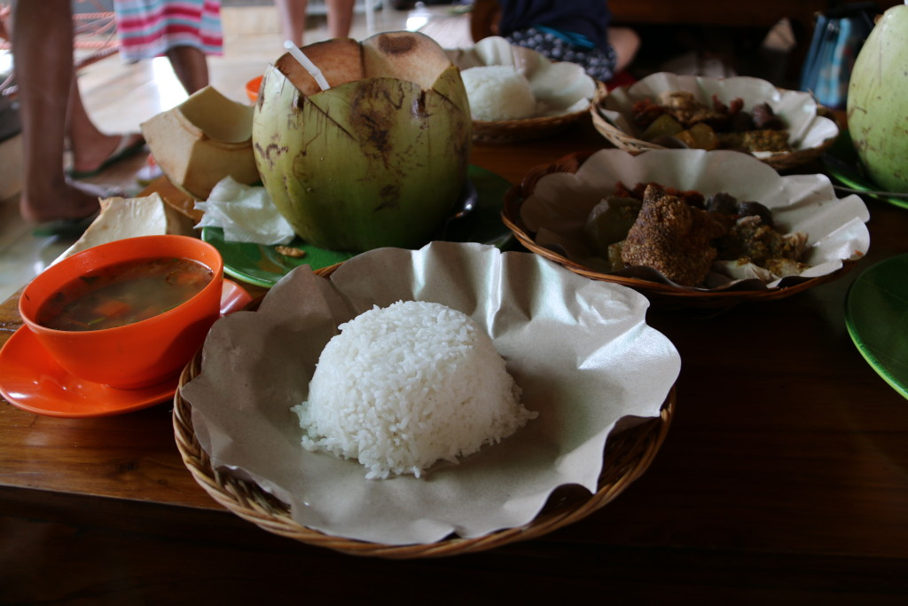 Babi Guling, the infamous dish by Ibu Oka, Ubud, which I think it is seriously over rated.