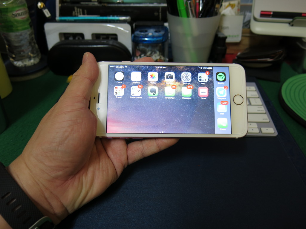 Everything the same, with the previous iPhone 6 Plus