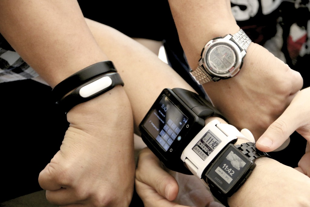 The wearables at the recent MobileFest meet