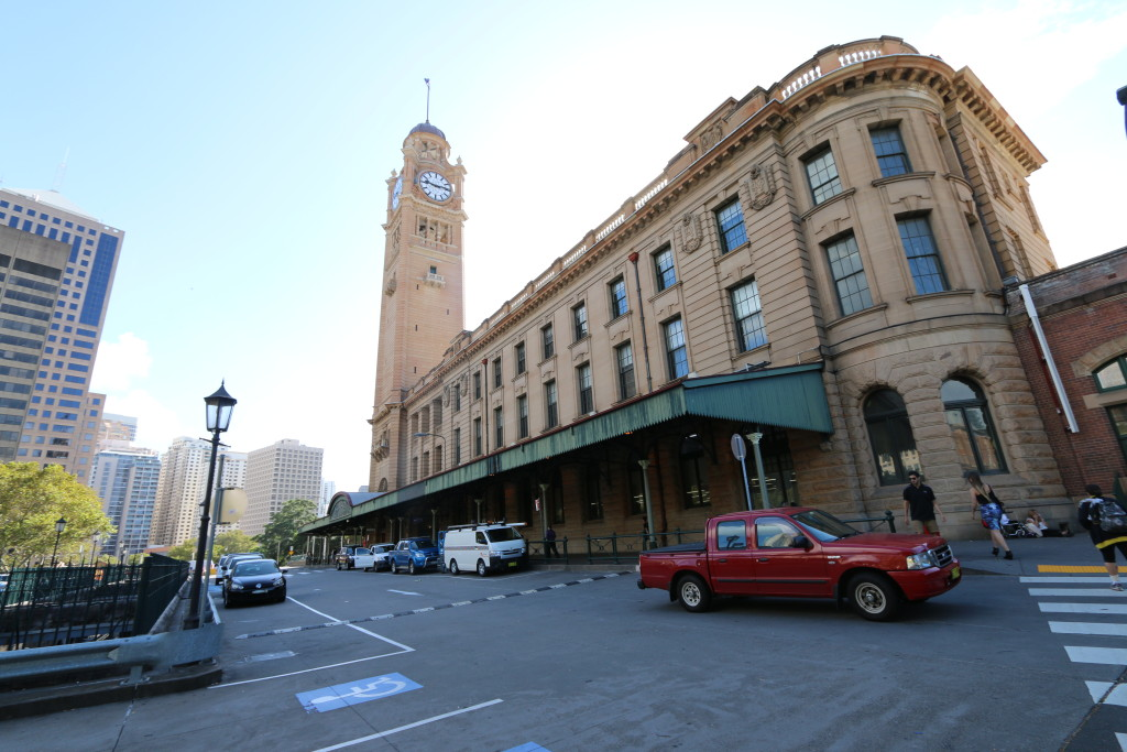 The Central Station at Sydney