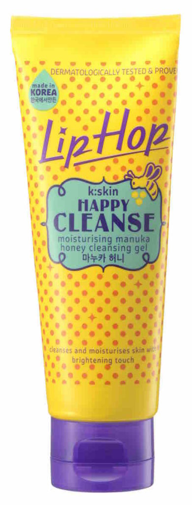 Lip Hop HAPPYCLEANSE Moisturising Manuka Honey Cleaning Gel is enriched with lotus flower extract that enhances brightening benefit to leave your skin radiant and bright.