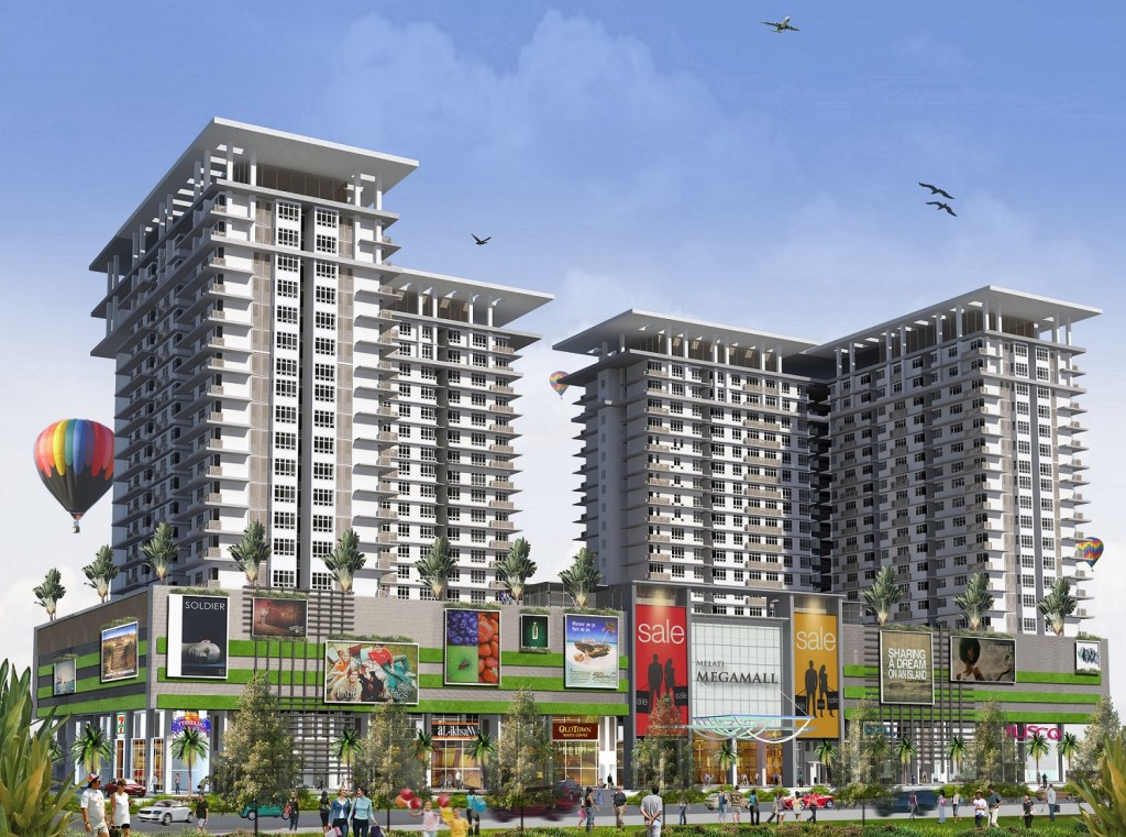 Artist's Impression of M3 Mall and M3 Residency upon completion.