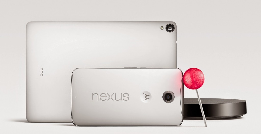 The new Nexus 6 & 9, as well as Player announced last night