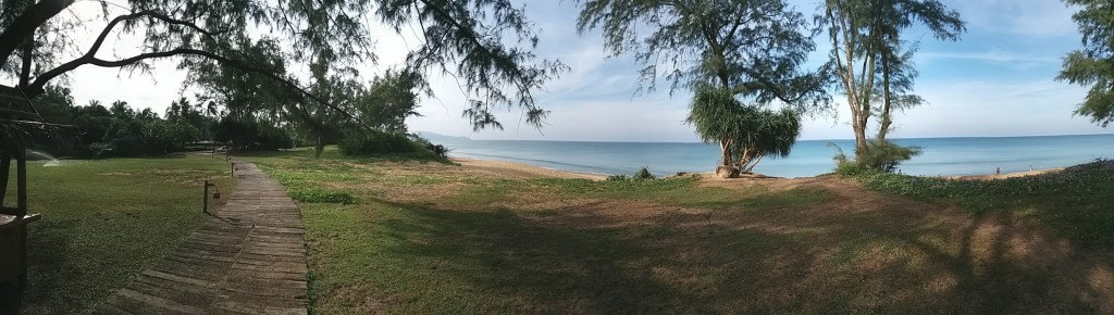 A 10 minutes walk and you will get this beautiful beach, which is not directly accessible from the hotel