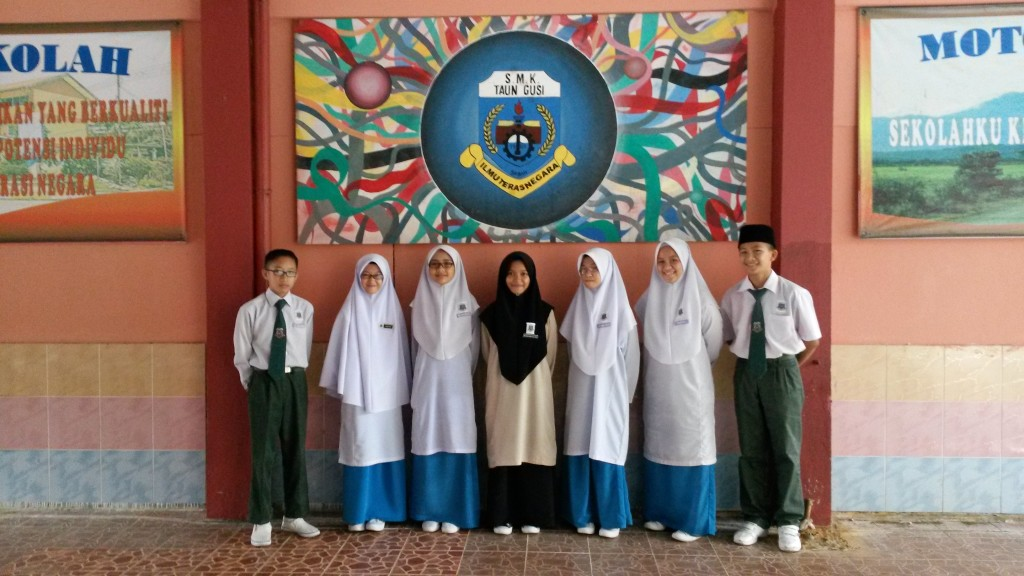 SMK Taun Gusi, the first prizewinner for the secondary category of Antabax National CLAP competition