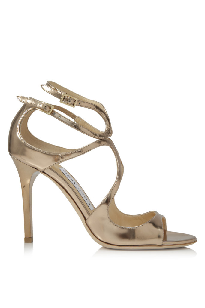 Jimmy Choo Lang Sandal - The perfect sandal to elongate your silhouette , one step at a time