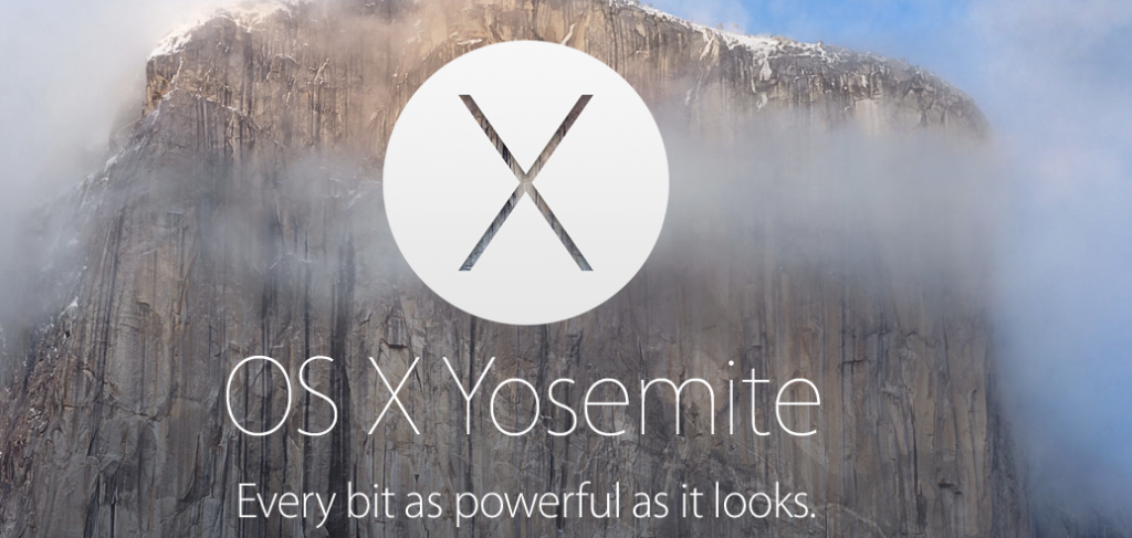 Yosemite, the upcoming OS X