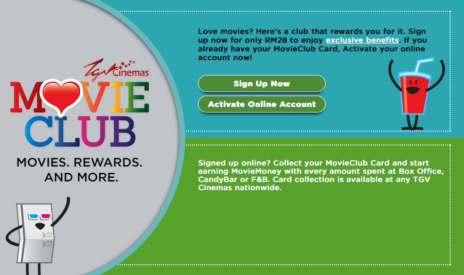 TGV Movie Club, good programme, poor customer service