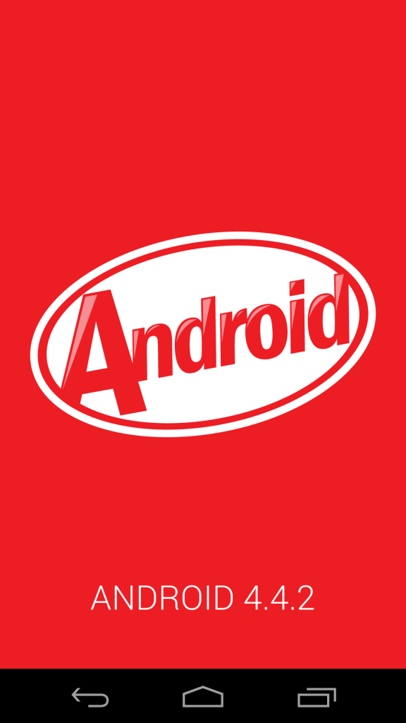 The latest KitKat 4.4.2