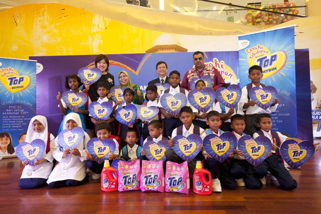 The charity fund raising campaign was carried out from October 12 to December 13, channeled towards providing the back-to-school necessities for the underprivileged kids.