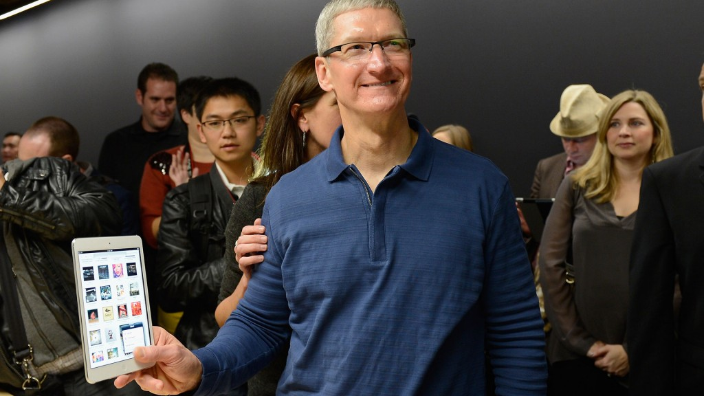 Tim Cook @ Apple Store