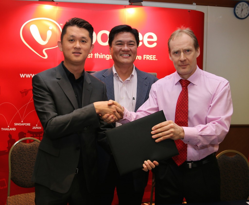 Datuk Eddie Chai, Group Managing Director of XOX Berhad, Mr Ng Kok Heng, Group CEO of XOX Berhad, and Mr Pekka Peltola, Chairman of e-horizon