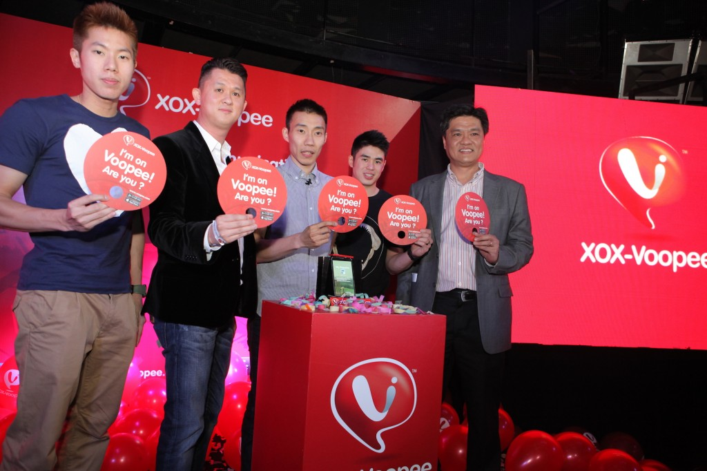 Officiating and launching XOX-Voopee, the evolution of communication