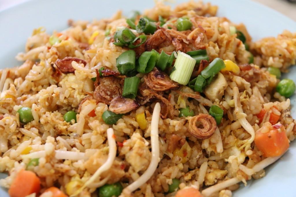 Balacan Fried Rice, Hainanese Style