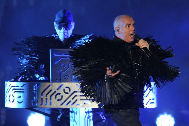 Pet Shop Boys live for the first time in Malaysia.  Picture courtesy of thestar.com.my