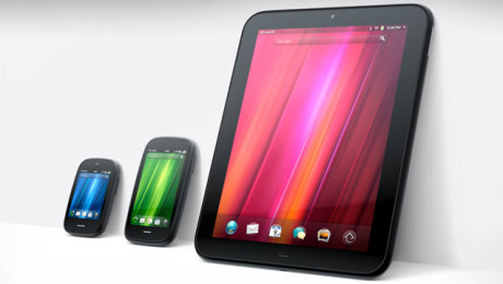 webOS powered devices, by Palm & HP